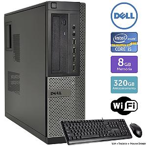 Desktop Usado Dell Optiplex 990Int I5 8Gb 320Gb Brinde