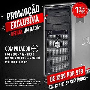 Computador Dell Optiplex MT C2Duo 4GB 500gb