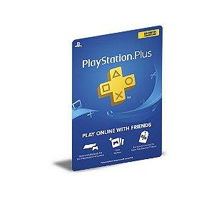 PSN PLUS PLAYSTATION USER PS5 MÍDIA DIGITAL