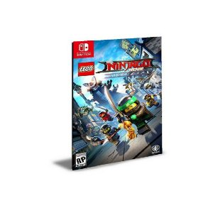 LEGO NINJAGO Movie Video Game NINTENDO SWITCH Mídia Digital