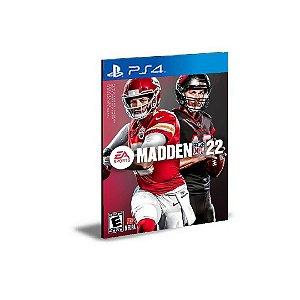 Madden NFL 22 Standard Edition  Ps4 Mídia Digital