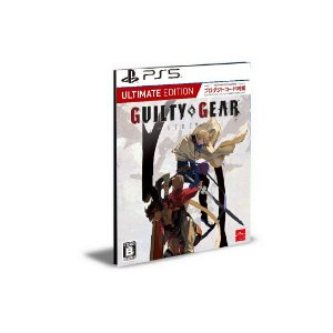 Guilty Gear -Strive- Ultimate Edition Ps5 Psn Mídia Digital