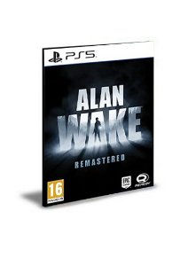 Alan Wake Remastered PS5 PSN Mídia Digital