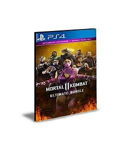 Pacote Dlcs Mortal Kombat 11 Ultimate Ps4 Psn Mídia Digital