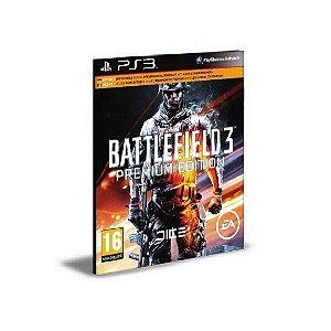 Battlefield 3 Ps3 Premium Edition Psn Mídia Digital