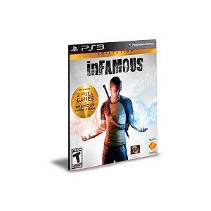 Infamous 1 e 2  PS3 PSN Mídia Digital