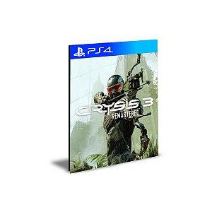 Crysis 3 Remasterizado Ps4 e Ps5 Psn Mídia Digital
