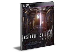 RESIDENT EVIL 0 | PS3 | PSN | MÍDIA DIGITAL