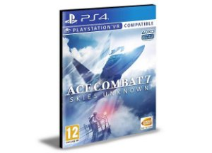 Ace Combat 7 Skies Unknown Português Ps4 e Ps5  Psn  Mídia Digital