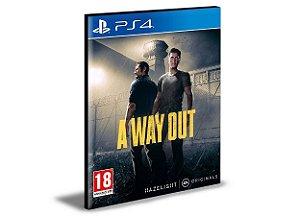 A Way Out Português Ps4 e Ps5  Mídia Digital Psn
