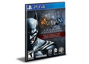Batman Arkham Collection  Português Ps4 e Ps5  Mídia Digital Psn