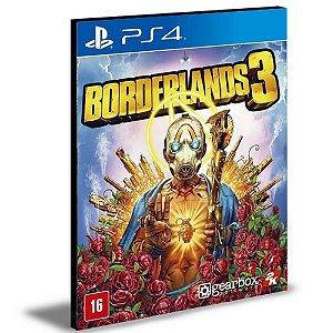 Borderlands 3 Ps4 e Ps5 Psn Mídia Digital