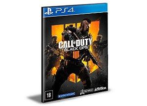 Call Of Duty Black Ops 4 Ps4 e Ps5 Psn  Mídia Digital