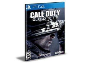 Call Of Duty Ghosts Gold Edition Ps4 e Ps5 Psn Mídia Digital