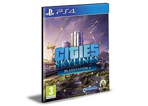 CITIES SKYLINES EDITION  PORTUGUÊS Ps4 e Ps5 Psn  Mídia Digital