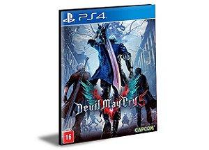 Devil May Cry 5  Português Ps4 e Ps5 Digital  Promoção