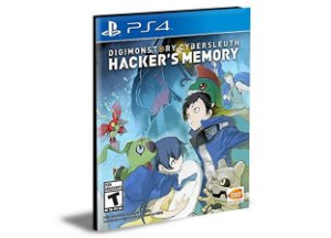 DIGIMON STORY CYBER SLEUTH HACKERS MEMORY PS4 e PS5 PSN  MÍDIA DIGITAL