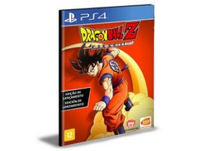 DRAGON BALL Z KAKAROT  PORTUGUÊS  PS4 e PS5 PSN  MÍDIA DIGITAL