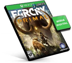 Far Cry Primal  Português  Xbox One e Xbox Series X|S Mídia Digital