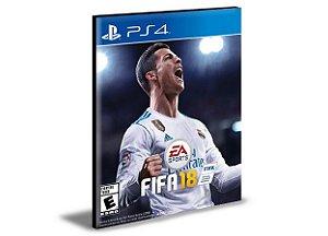 FIFA 18 PS4 e PS5 PSN  MÍDIA DIGITAL