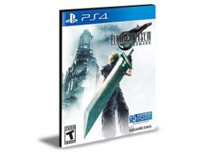 FINAL FANTASY 7 REMAKE Português PS4 e PS5 PSN  MÍDIA DIGITAL