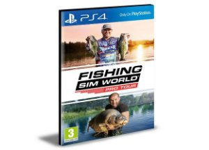 Fishing Sim World Pro Tour Ps4 e Ps5 Psn  Mídia Digital