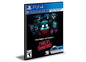 Five Nights at Freddy's VR Help Wanted Ps4 e Ps5 Psn Mídia Digital