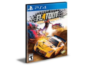 FLATOUT 4 TOTAL INSANITY Ps4 e Ps5 Psn  Mídia Digital