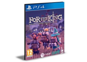 For The King PS4 e PS5 Psn Mídia Digital