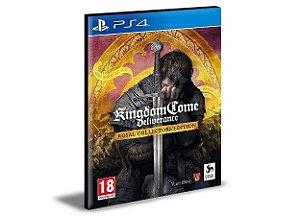 Kingdom Come Deliverance Ps4 e Ps5 Psn Mídia Digital