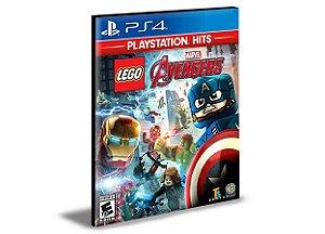 LEGO MARVEL AVENGERS  PORTUGUÊS  PS4 e PS5 PSN  MÍDIA DIGITAL