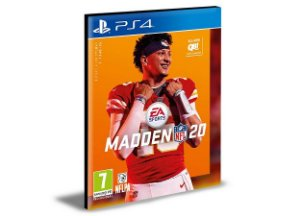 Madden NFL 20  Ps4 e Ps5  Psn  Mídia Digital