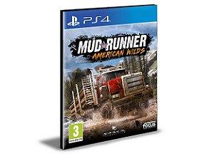 MudRunner American Wilds Edition  Ps4 e Ps5 Psn Mídia Digital