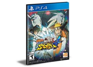 NARUTO SHIPPUDEN Ultimate Ninja STORM 4  PS4 e PS5 PSN  Mídia Digital