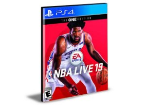 Nba LIVE 19 ALL -STAR EDITION  Ps4 e Ps5 Psn   Mídia Digital