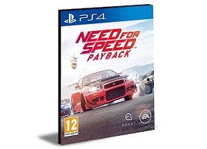 NEED FOR SPEED PAYBACK  PS4 e PS5 PSN  MÍDIA DIGITAL