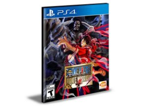 ONE PIECE PIRATE WARRIORS 4 PS4 e PS5 PSN MÍDIA DIGITAL