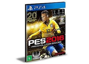PES 2016 Português PS4 PSN MÍDIA DIGITAL