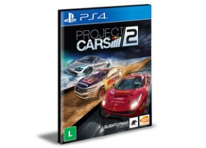 Project Cars 2  Português  Ps4 e Ps5 Psn  Mídia Digital