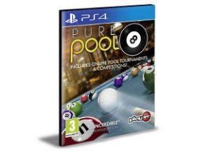 Pure Pool PS4 e PS5  PSN  MÍDIA DIGITAL