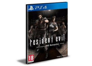 RESIDENT EVIL HD REMASTER  PS4 e PS5  PSN  MÍDIA DIGITAL