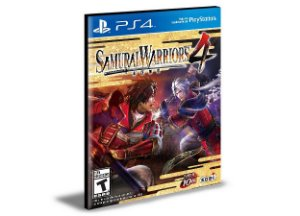 Samurai Warriors 4  Ps4 e Ps5 Psn Mídia Digital