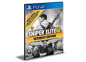 Sniper Elite 3 Ultimate Edition | Ps4 | Mídia Digital