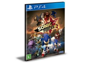 SONIC FORCES| Ps4 | Psn | Mídia Digital