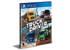 Truck Driver Ps4 e Ps5 Psn Mídia Digital