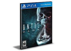 Until Dawn Ps4 e Ps5 Psn Mídia Digital