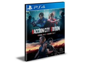 RACCOON CITY EDITION  Português Ps4 e Ps5  PSN MÍDIA DIGITAL