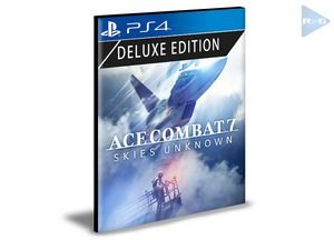 Ace Combat 7 Skies Unknown Edição Deluxe  Português Ps4 e Ps5  Psn  Mídia Digital