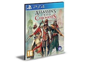 Assassin's Creed Chronicles Trilogy  Ps4 e Ps5 Psn  Mídia Digital