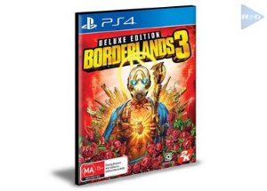 Borderlands 3 - Edição Deluxe  Português Ps4 e Ps5 Psn  Mídia Digital